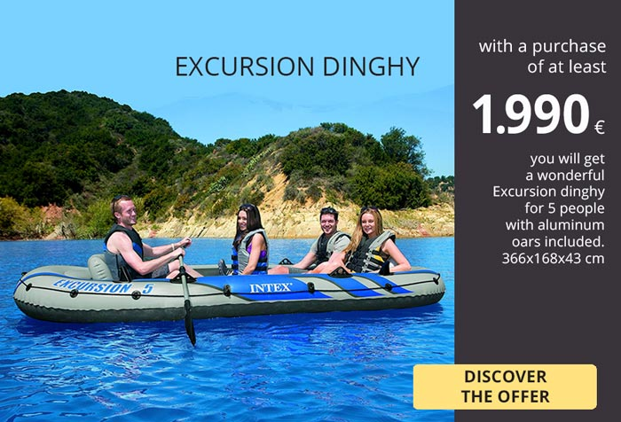 NEW PROMOTION MAY-JUNE DINGHY