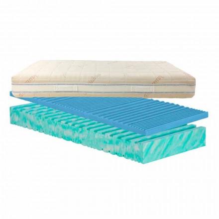 Double matrace roztočů odnímatelný Bio Nature, made in Italy