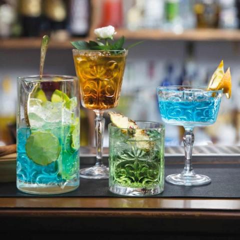 12 dvojitých staromódních sklenic v luxusním ekologickém křišťálu - Destino