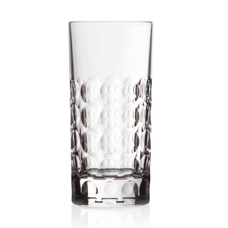 12 sklenic Highball pro nealkoholické nápoje nebo dlouhé nápoje v Eco Crystal - Titanioball
