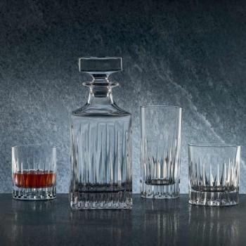 12 sklenic na skleničku s dlouhým nápojem v ekologickém křišťálu - Voglia