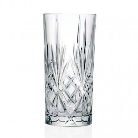 12 sklenic, High Tumbler, Highball na koktejl v Eco Crystal - Cantabile