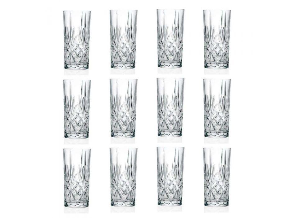 12 brýlí Alto Highball na koktejl v Eco Crystal - Cantabile
