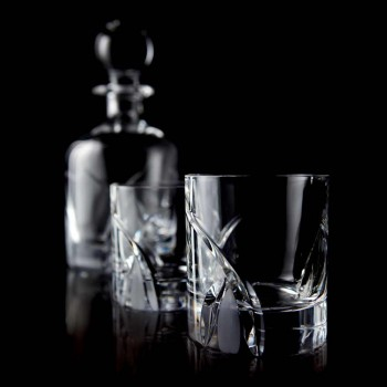 12 brýlí s nízkou sklenicí v luxusním designu Eco Crystal - Montecristo