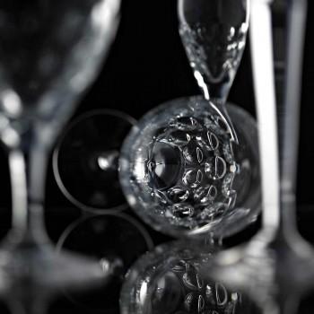 12 sklenic na pivo v ekologickém křišťálově zdobeném luxusním designu - Titanioball