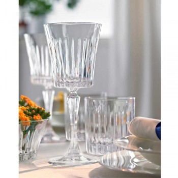 12 luxusních ekologických křišťálových sklenic na víno - Senzatempo