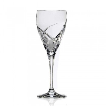 12 luxusních degustačních sklenic na víno v ekologickém křišťálu - Montecristo
