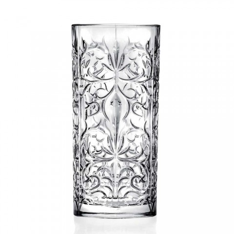 12 sklenice na vysoký pohár Highball s kalíškem nebo luxusní zdobená voda - osud
