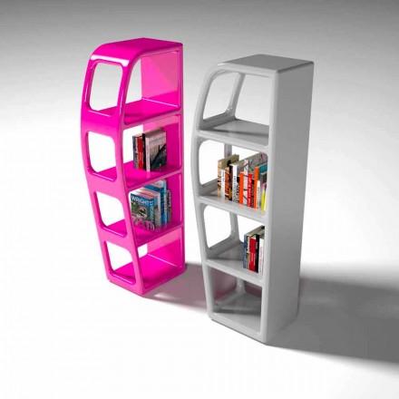 Návrhářská knižnice B-Side Vyrobeno v Itálii