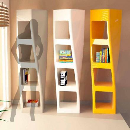 Moderní knihovna v Solid Surface Collins