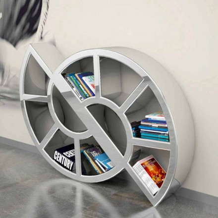 Moderní design knihovny handcrafted v Itálii Nicol