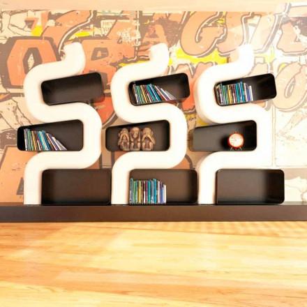 Současná knihovna Solid Design Ser P vyrobená v Itálii