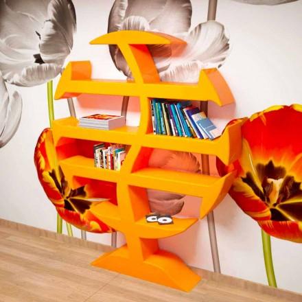 Stevenson moderní knihovna handcrafted v Itálii