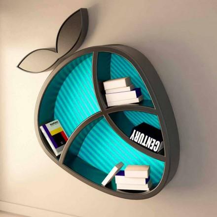 Moderní designová polička Poppy Book Viadurini Design Vyrobeno v Itálii