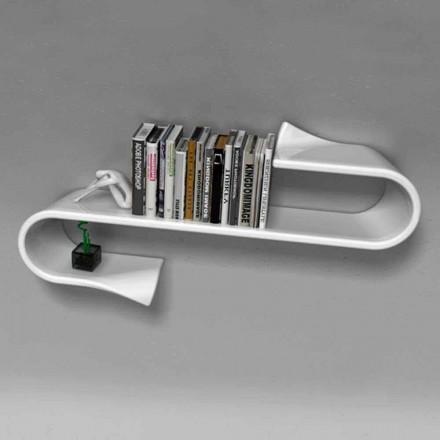 Moderní designová police Waveshelf Viadurini Design Vyrobeno v Itálii