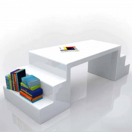 Moderní kancelářský stůl v bílé, zelené nebo Abbott moka