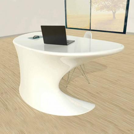 Bílé, modré nebo šedé moderní kancelářské psací stoly Cobra
