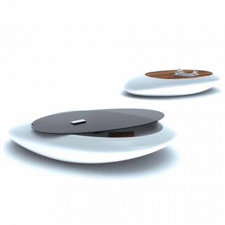 Design kavárny Designový obývací pokoj Drop Made in Italy