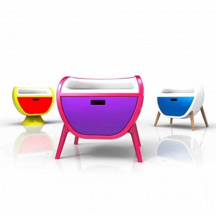 Moderní design noční stolky Gauche Vyrobeno v Itálii