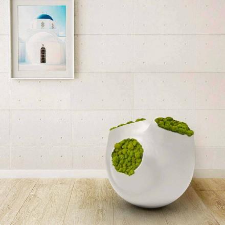 Dekorativní měsíční designová váza vyrobená v Itálii