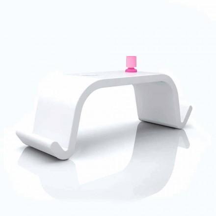 Acton moderní design kancelářský stůl, černý nebo bílý