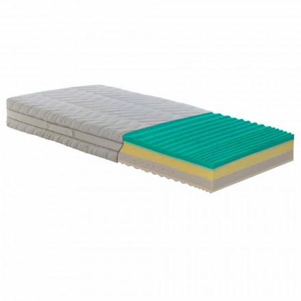 Matrace čtverec a půl kapesní jarní Bio paměť