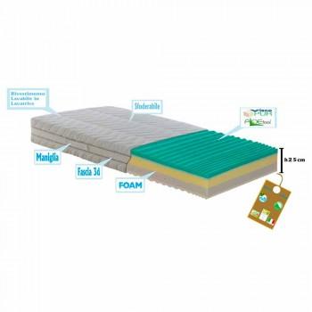 Matrace 1 náměstí a půl kapesní odpružené Bio paměť