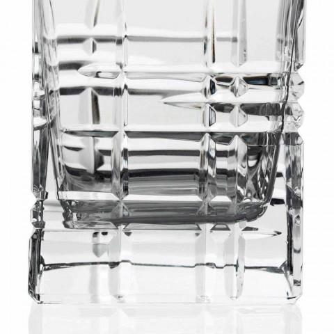 2 láhve whisky s křišťálově zdobeným čtvercovým designovým víčkem - arytmie
