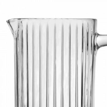 2 džbány vody a nápojů v ekologickém křišťálovém luxusním designu - Senzatempo