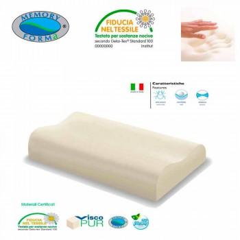 2 ergonomické hypoalergenní polštáře Memory Foam Memory krční