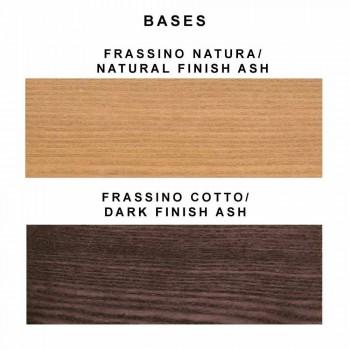 2 jídelní křesla v barevných látkách a designu Ash - Duchessa