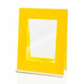 2 více stolní fotorámeček v barevném italském plexiskle - Tarino