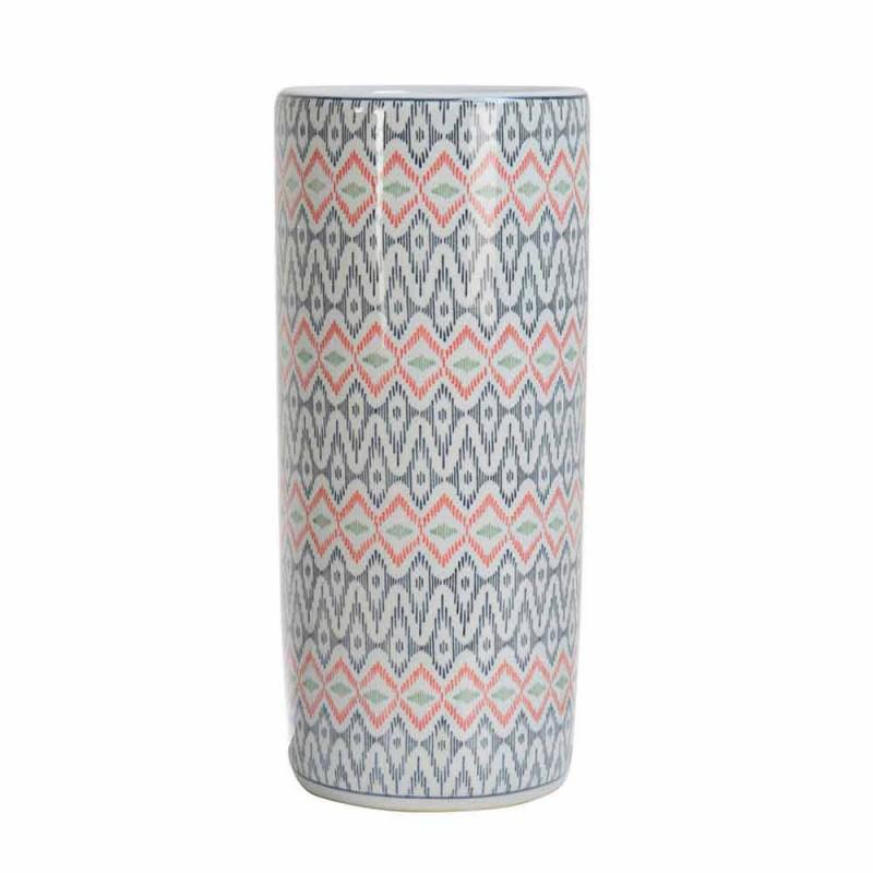 2 porcelánový stojan na deštníky zdobený obtiskem Homemotion - Nando