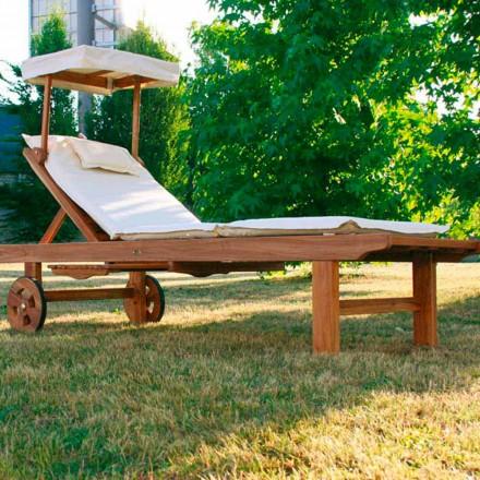 Nastavitelný Crib teakwood zahradní