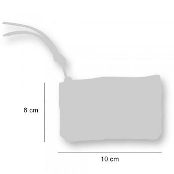 3 ručně tištěné bavlněné spojky v unikátních kusech - Viadurini od Marchi