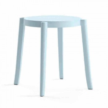 4 venkovní stohovatelné stoličky design z polypropylenu Vyrobeno v Itálii - Anona