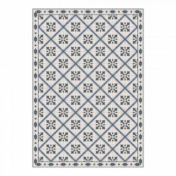6 obdélníkových prostírání v Pvc a Polyesteru se vzorovaným designem - Berimo