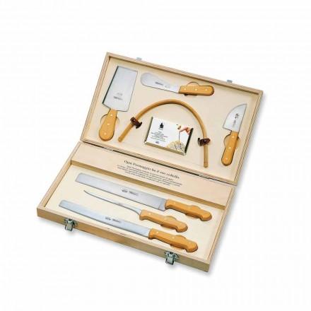 7 italských nožů z nerezové oceli, Berti exkluzivně pro Viadurini - Alessano