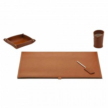 Příslušenství pro Designer Desk v Bonded Leather, 4 Pieces - Aristotle