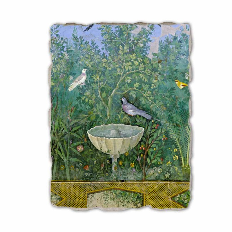 "Roman Fresco ""zahrada s fontánou Erme a"" speciální"