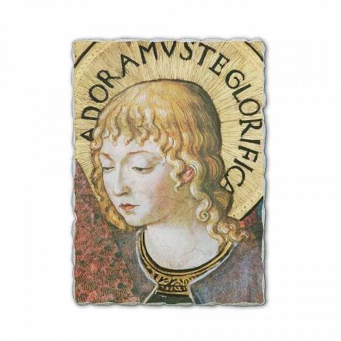 "Fresco Benozzo Gozzoli ""Sbory andělů v klanění"" -1454"