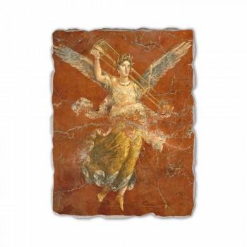 "Fresco handmade Ital Roman ""Cyklus múz"""