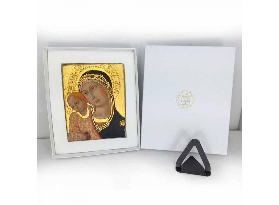"Fresco ručně v Itálii Beato Angelico ""Madonna Shadows"""