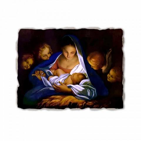 "Fresco handmade Ital Carlo Maratta ""zrození"" v roce 1650"
