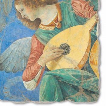 """Fresco ruční Melozzo da Forlì """"Angelo Musicante"""""""
