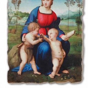 """Fresco handmade Raffaello Sanzio """"Madonu Goldfinch"""""""