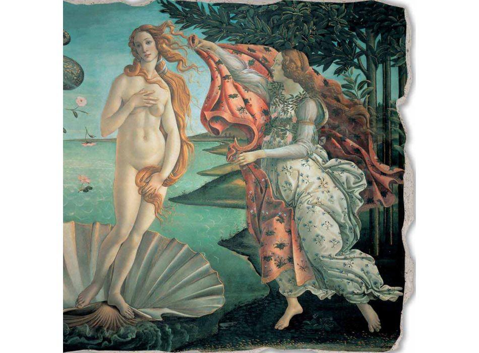 """Fresco provádí v Itálii Botticelli je """"Zrození Venuše"""""""