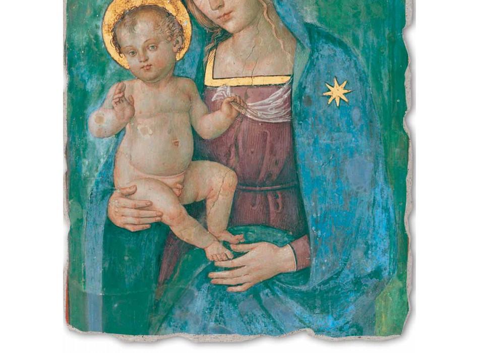 """Fresco provádí v Itálii Pinturicchia """"Madony s dítětem"""""""