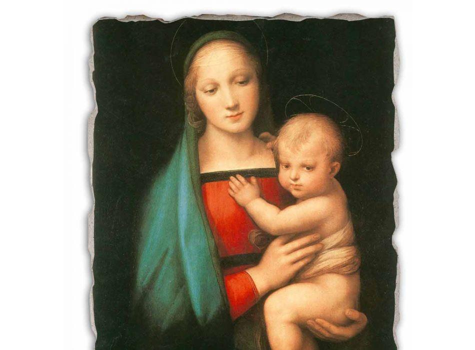 "Fresco Italská vyrobené Raffaello Sanzio ""Madonna del Granduca"""