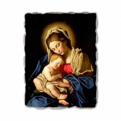 """Fresco provádí v Itálii Sassoferrato """"Madony s dítětem"""""""